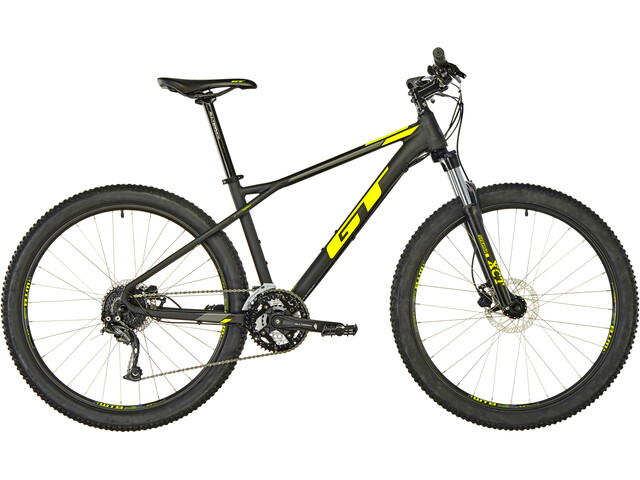 """GT Bicycles Avalanche Sport 27,5"""" satin black/chartreusen/mid siver"""